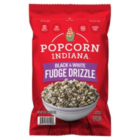 Popcorn, Indiana Drizzled Black and White Kettle Corn (17 oz.)