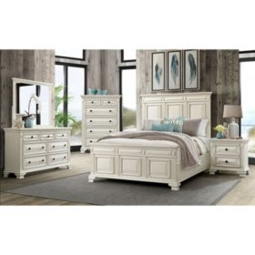 Society Den Trent Panel Bedroom Set (Assorted Sizes)