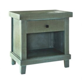 Society Den Donovan One-Drawer Nightstand
