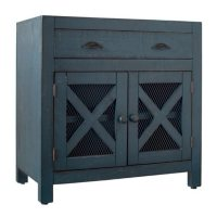 Picket House Furnishings Rylan 2-Door Accent Chest, Assorted Colors