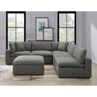 Haven 6-Piece Sectional Sofa, Assorted Colors
