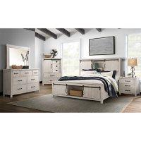 Society Den Jack Platform Storage 4PC Bedroom Set, Assorted Colors and Sizes