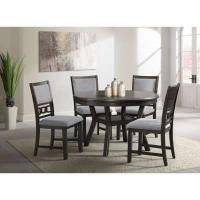 Society Den Taylor 5 Piece Dining Set Choose Height Color Sam S Club