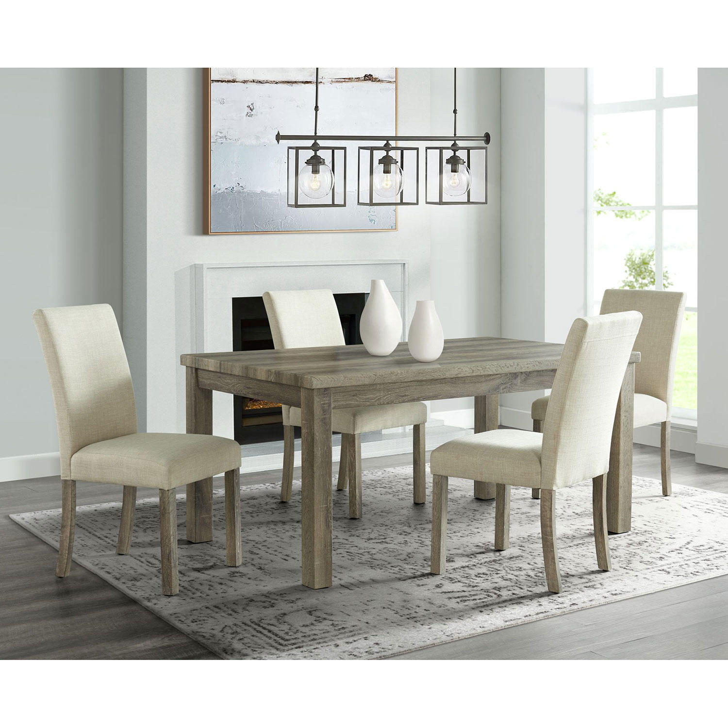 Society Den Turner 5-Pc. Standard-Height Dining Set