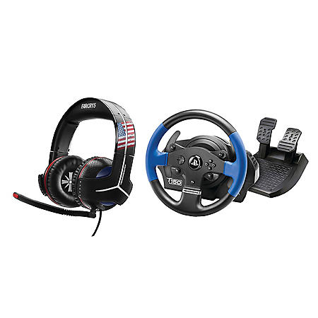 Thrustmaster T150 RS Racing Wheel For PS4/PS3/PC & Y-300 CPX