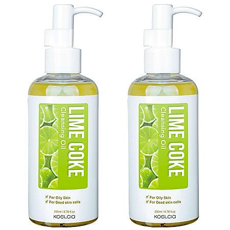 Koelcia Lime Coke K-Beauty Cleansing Oil (2 pk.)