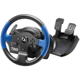 Thrustmaster T150 RS Racing Wheel, 12month iRacing Membership Voucher (PS4 / PS3)