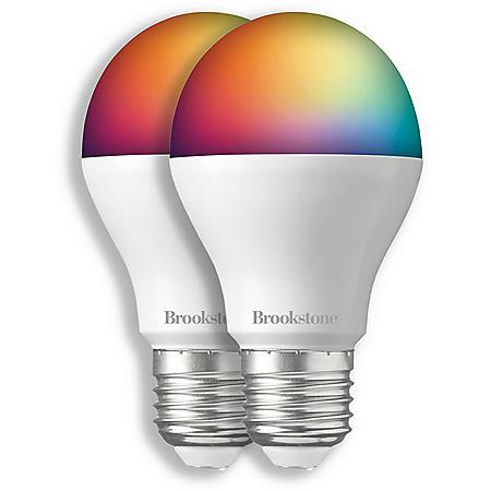 Brookstone Color Smart Bulb (2 Pack)