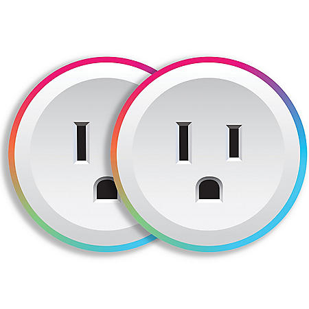Brookstone Color Smart Plug (2 Pack)