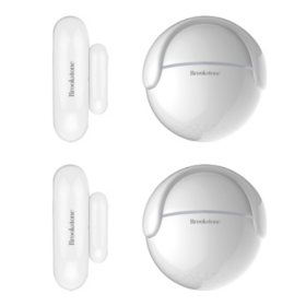 Brookstone Motion Sensor with Door/Window Sensor (2 Pack)
