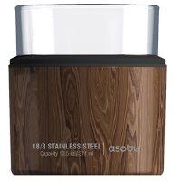 Asobu Whiskey Kuzie Beverage Holder, 4 Pack (Assorted Colors)