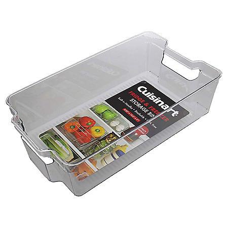 Cuisinart Fridge and Freezer Large Storage Bins, 4 Pack