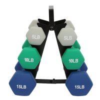 60 lb. Neoprene Dumbbell Set