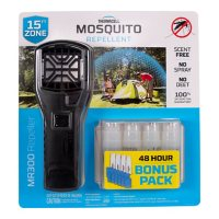 Thermacell Portable Mosquito Repeller Bonus Pack with 48 Hours of Mosquito Repellent