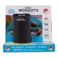 Thermacell Patio Shield Mosquito Repeller Bonus Pack with 48 Hours of Mosquito Protection