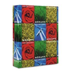Mohawk - Copier 100% Recycled Paper, 96 Brightness, 28lb 8-1/2x11, White -  500 Shts/Rm