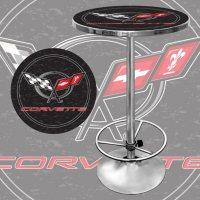 Corvette C5 Pub Table (Assorted Colors)