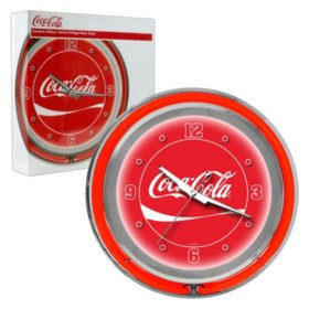 Coca Cola Neon Clock (Assorted Styles)