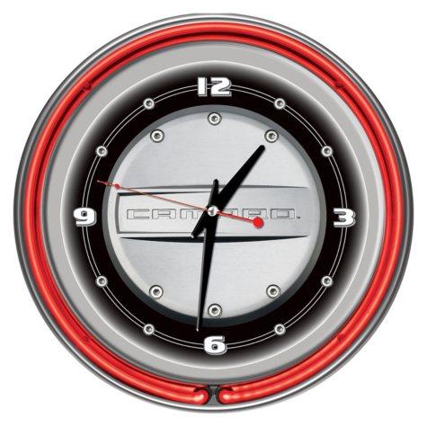 "Camaro 14"" Neon Clock"