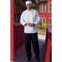 Mesh Back Chef Coat, White (X-Small - 3XL)