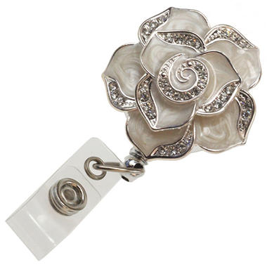 Posy Rose Badge Reel