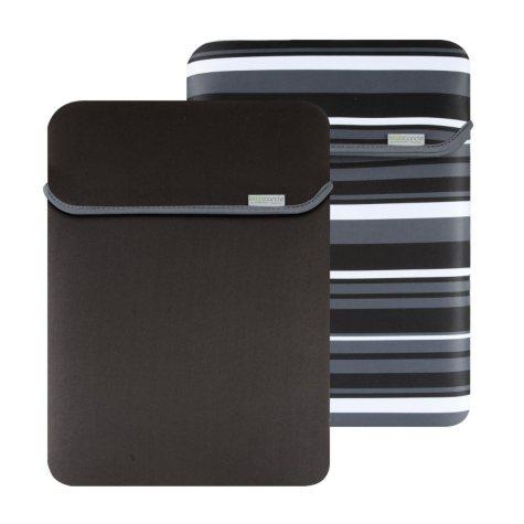 "17"" MacBeth Reversible Sleeve - Castlerock Stripe/Black"