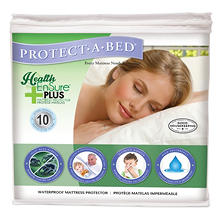 Protect-A-Bed Health-Ensure Plus Mattress Protector, Waterproof (Assorted Sizes)