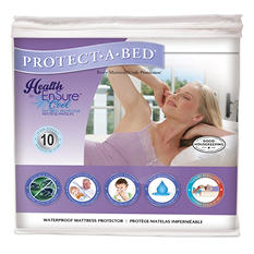 Protect-A-Bed Health-Ensure Cool Mattress Protector, Waterproof (Assorted Sizes)