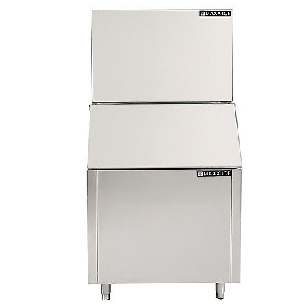 "Maxx Ice 30"" Modular Stainless Steel Ice Machine, Air Cooled (450 lbs.)"