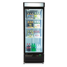 Maxxium X-Series Merchandiser Refrigerator with Glass Door (23 cu. ft.)