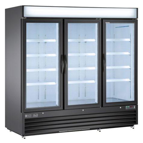 Maxxium X-Series Merchandiser Refrigerator with Glass Door (72 cu. ft.)