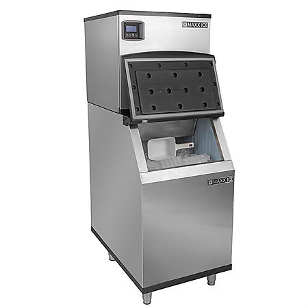 "Maxx Ice 22"" Half-Dice Ice Machine (360 lbs.)"