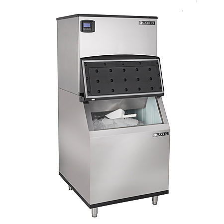 "Maxx Ice 30"" Wide Half Dice Ice Machine (500 lbs.)"