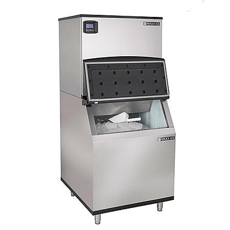 "Maxx Ice 30"" Half-Dice Ice Machine (650 lbs.)"
