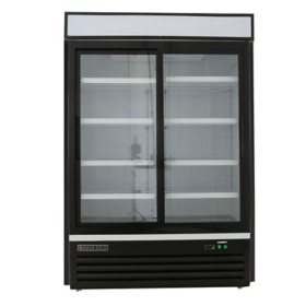 Maxx Cold X-Series Double Sliding Glass Door Merchandiser Refrigerator (48 cu. ft.)