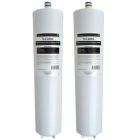 Maxx Ice Carbon Block Water Filter Replacement Cartridge, 2 pk. (TLC-2200S-DBLP)