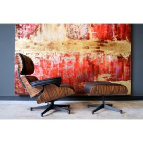 Groovy Eames Lounge Chair And Ottoman Sams Club Short Links Chair Design For Home Short Linksinfo