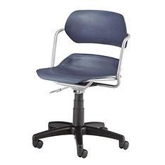 Armless Swivel Chair - Various Colors