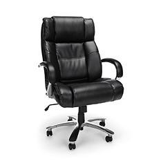 OFM Avenger Series Big & Tall Executive Chair - Black