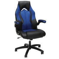 OFM Essentials Collection High-Back Racing Style Bonded Leather Gaming Chair, Choose a Color (ESS-3086)