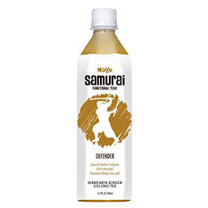 Noyu Samurai Defender Mandarin Ginger Oolong Tea (16.9 fl oz., 12 pk.)
