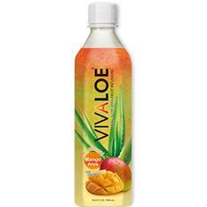 Vivaloe Mango Aloe Drink (16.9 fl. oz., 12 pk.)