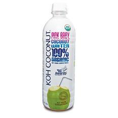 KOH Coconut 100% Organic Pink Baby Coconut Water (16.9 fl. oz., 12 pk.)