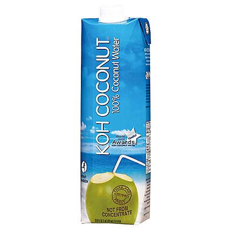 KOH Coconut 100% Coconut Water (1L / 12pk)