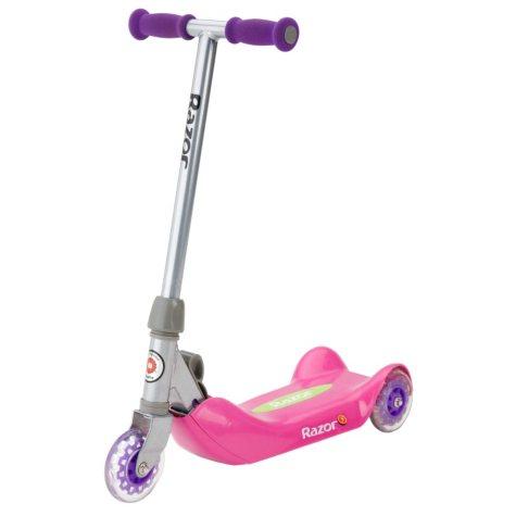 Razor Jr. Folding Kiddie Kick Scooter - Pink
