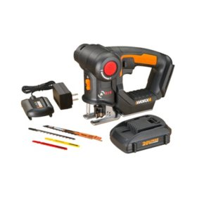 WORX 20V Power Share Axis Cordless Reciprocating and Jig Saw