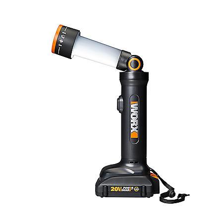 WORX 20V Power Share Multi-Function LED Flashlight