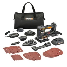 WORX 20V Power Share Sandeck 5-in-1 Multi-Sander