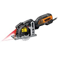 Worx Electric Corded Versacut Compact Circular Saw with Laser Technology