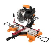 """Worx 20V Power Share Cordless 7¼"""" Sliding Compound Miter Saw with Work Holding Lever"""